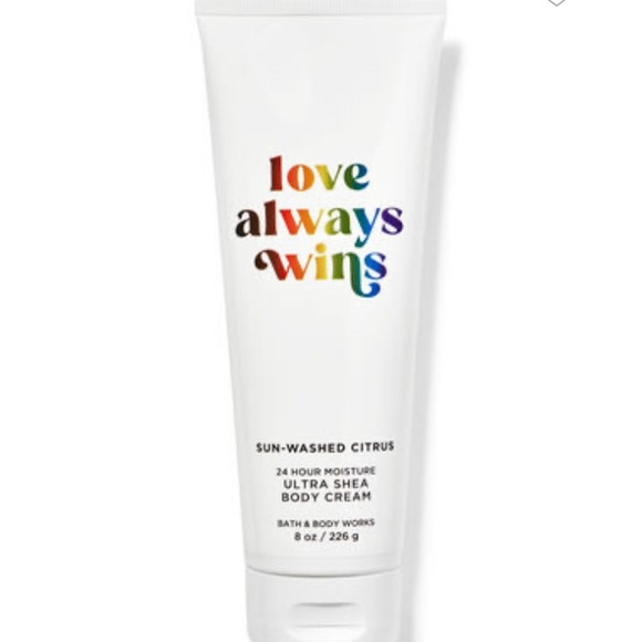 NEW body cream from Bath and Body Works